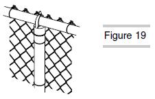 Installing Fence Ties